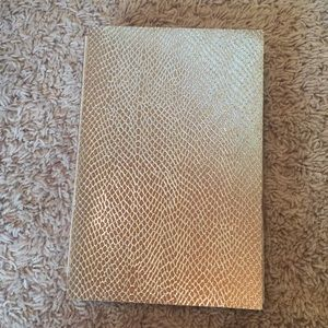 Other - Thin gold sketchbook with thick paper